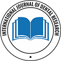 International Journal of Dental Research